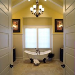 How To Decorate Large Living Room Windows A Long Narrow With Fireplace On Side Wall Creative Ways Your Farmhouse Bathroom - Decor ...