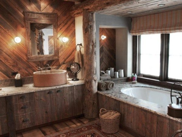 elegant rustic bathroom mirrors Rustic Bathroom Inspiration - Decor Around The World