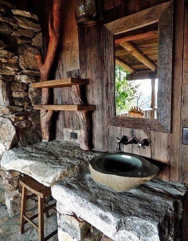 Rustic Bathroom Inspiration  Decor Around The World