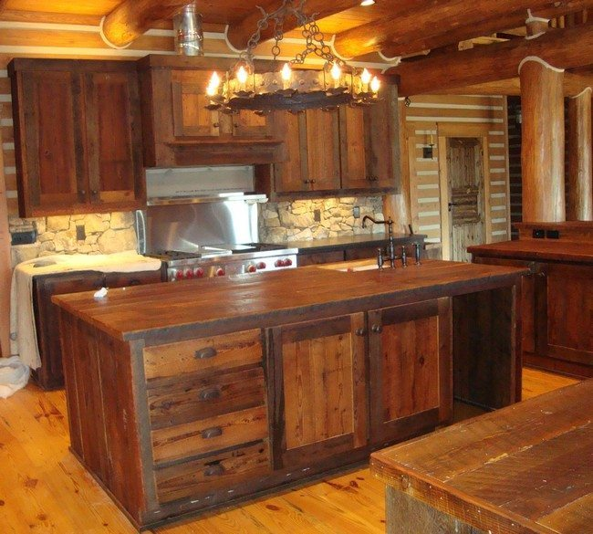 kitchen cabinets and countertops aid dishwasher reviews easy ways to achieve the rustic look - decor ...