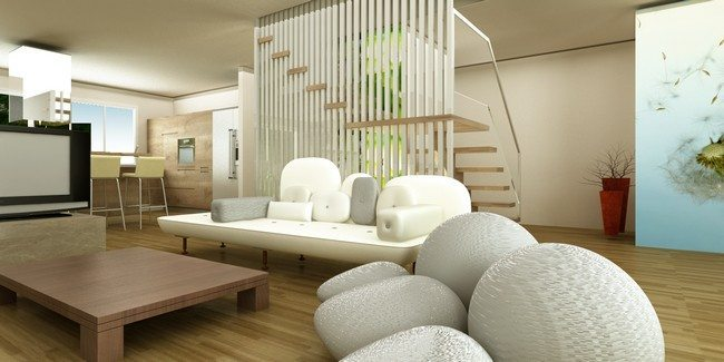 Interior Decor Plants Zen Living Room Design Modern Ideas - Decor Around The World