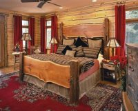 Rustic Bedroom Decorating Style