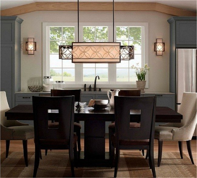 bright kitchen light fixtures used chairs ideas for table - decor around the ...