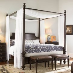 Small Space Tables For Kitchen Digital Timers Transforming Your Bedroom Using Luxury Canopy Beds - Decor ...