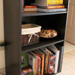 Kitchen Shelf Ideas Moen Single Handle Faucet Repair Countertop Cookbook Shelf- A Simple Yet Elegant Way To ...