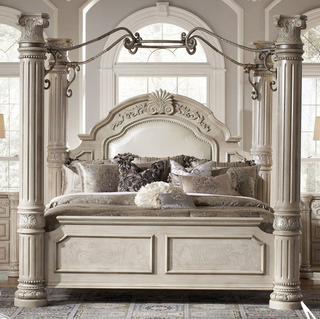 small space tables for kitchen door transforming your bedroom using luxury canopy beds - decor ...