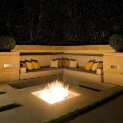 Kitchen Corner Bench Seating Decor Inspiration For Backyard Fire Pit Designs - Around ...