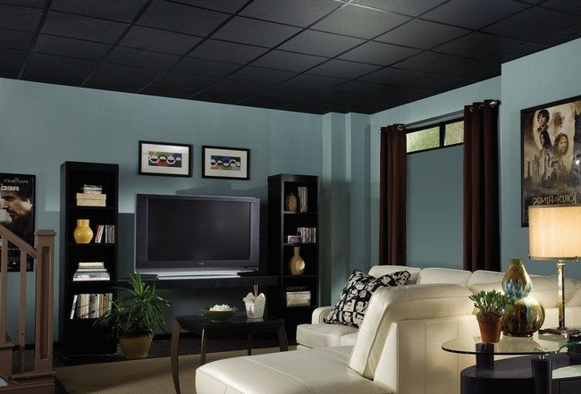 design ideas for black and white living room brown chairs why you should ditch your traditional ceiling adopt ...