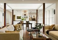 How to Use Living Room Columns to Create Rich Details ...