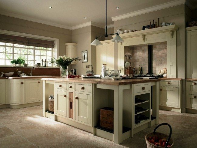 Cream Country Kitchen Ideas