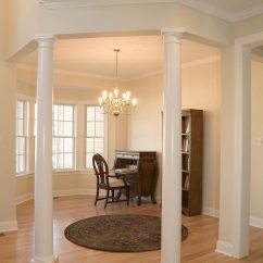 Rugs In Living Room Small Space How To Use Columns Create Rich Details ...