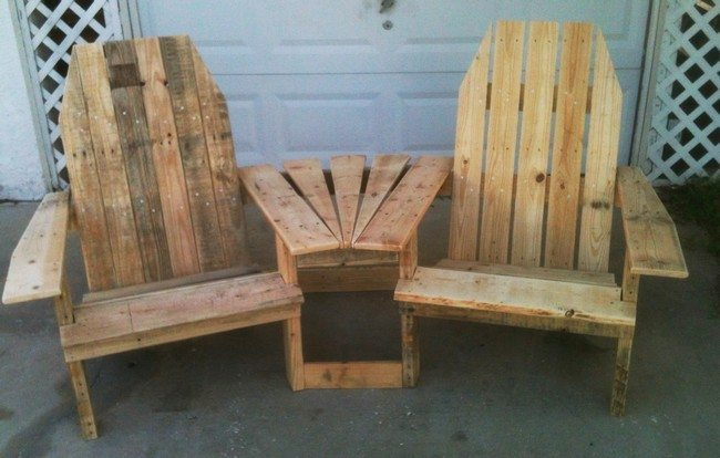 diy patio chairs clear plastic dining room chair covers diy: making your own pallet furniture - decor around the world