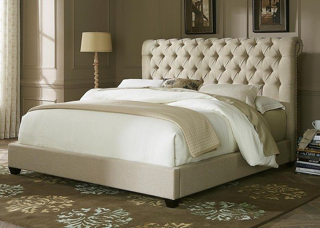 white tufted chairs install chair rail contemporary headboard ideas for your modern bedroom - decor around the world