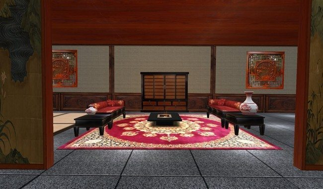 rug in living room ideas for curtains transform the way you dine using japanese-style dining ...