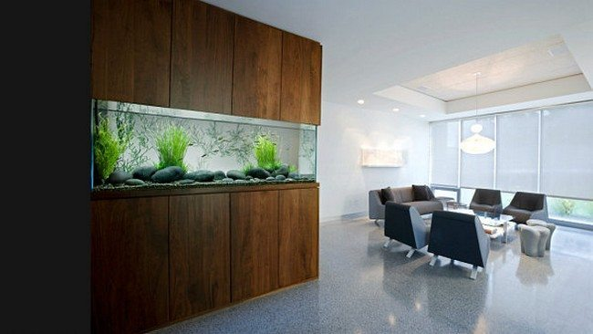 Modern Gray Bathroom Transform The Way Your Home Looks Using A Fish Tank