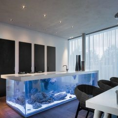 Grey Kitchen Table And Chairs Chair Covers Crushed Velvet Transform The Way Your Home Looks Using A Fish Tank - Decor Around World