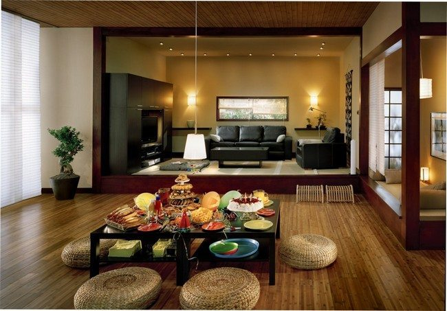 green cushions living room apartment therapy chairs transform the way you dine using japanese-style dining ...