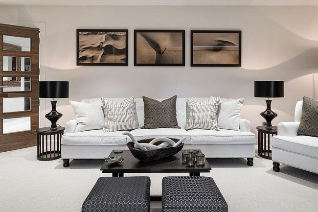 Black And White Wallpaper Living Room Let Your Living Room Stand Out With These Amazing Ideas