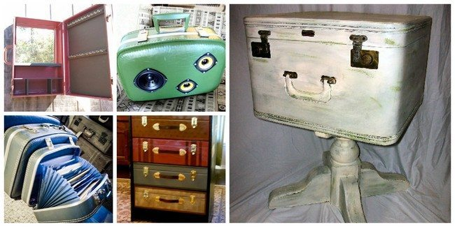 aluminum kitchen chairs easy remodel repurposed suitcases: simple diy ideas for decorating your ...