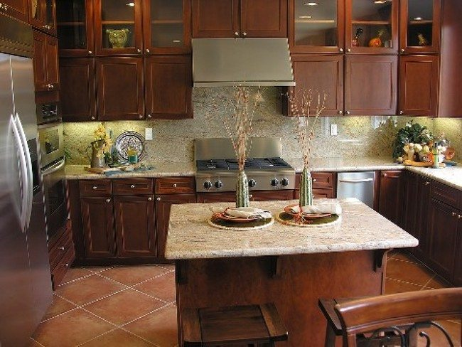 wallpaper kitchen backsplash island counter unique ideas you need to know about ...