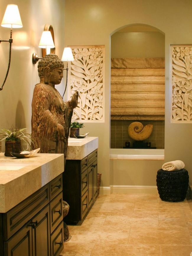 contemporary asian living room design how to long narrow style interior ideas decor around the world statue of buddha