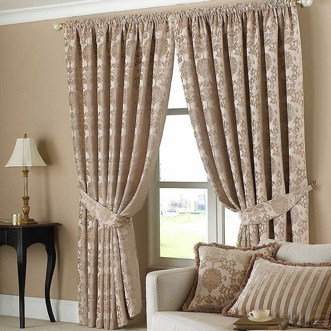 how to design curtains for living room designs with log burner spice up your these sophisticated matching curtain holders
