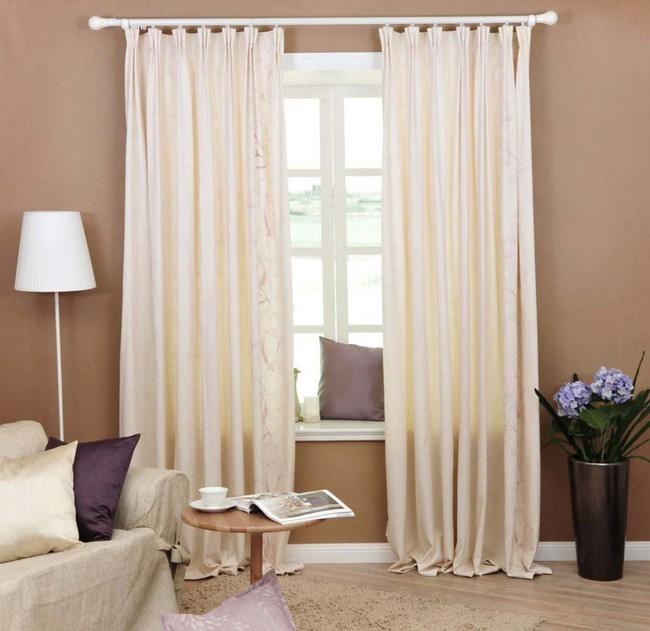 bay window curtain ideas living room interiors india curtains - spice up your design ...
