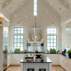 Unique Kitchen Lighting Green Furniture Slanted Ceilings For A Touch In Your Home's ...