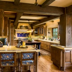 Kitchens With Islands Kitchen Curio Cabinet Spanish Style - Beautiful Design Ideas You Can ...