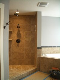 Open Shower Ideas: Awesome Doorless Shower Creativity ...