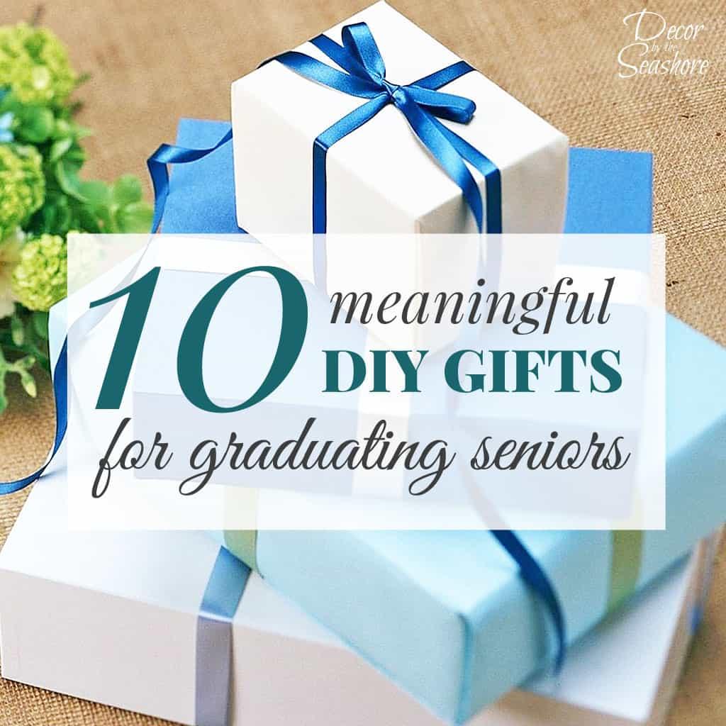 10 meaningful diy graduation