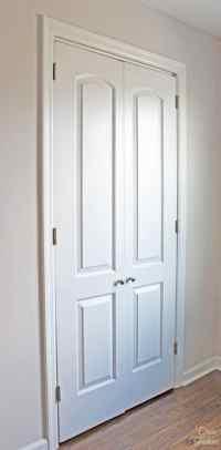 How to Turn a Bi-Fold Door into French Doors | DIY Closet ...