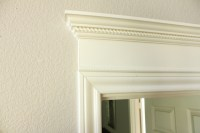Making Your Doors Pretty With Molding (and a How-to ...