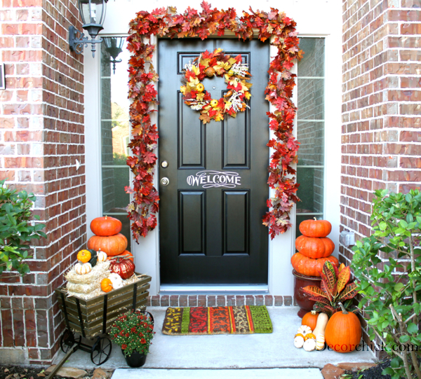 Fall Front Porch: Welcome To Our Fall Front Porch!