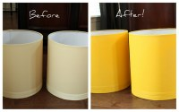 Meet My New Yellow Lamps {A Spray Paint Project ...