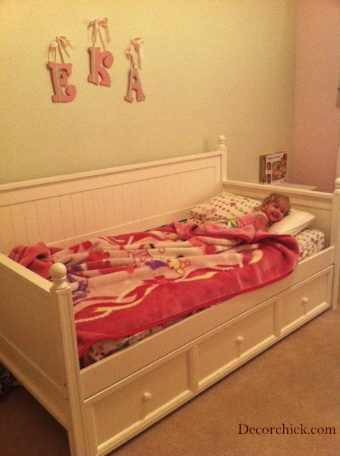 New Big Girl Bed And Big Girl Room Plans - Decorchick-7972
