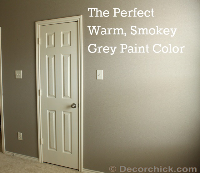 shades of grey i found the perfect smokey grey paint. Black Bedroom Furniture Sets. Home Design Ideas