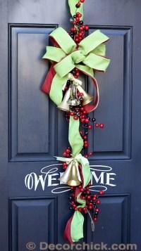 Not Your Average Christmas Wreath {Door Decor}