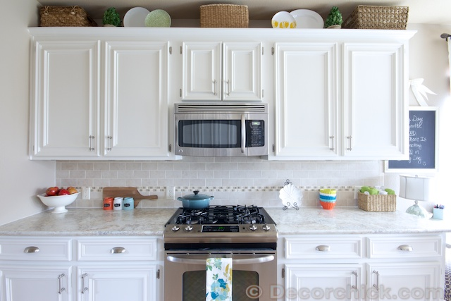 The Moment You've Been Waiting Forour White Kitchen