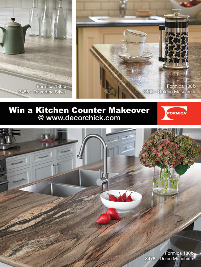 Kitchen Countertop Makeover Giveaway Decorchick
