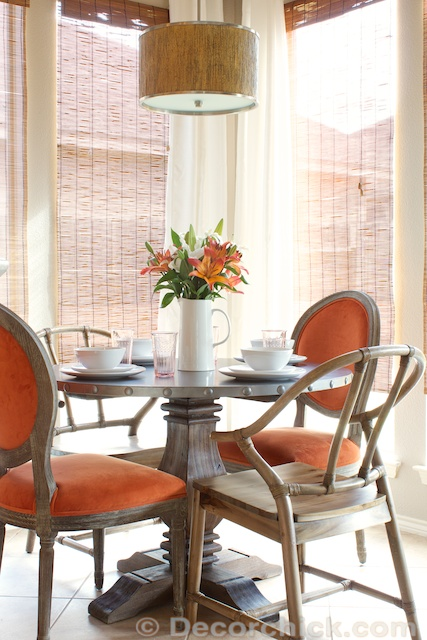 Breakfast Room Updates With New Table and Chairs  Decorchick