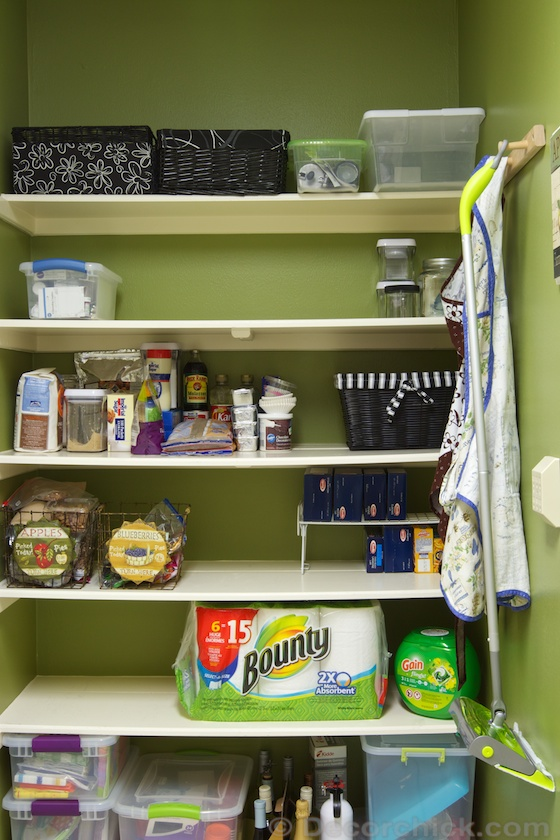 Pantry Makeover For Spring And A Home Depot Giveaway