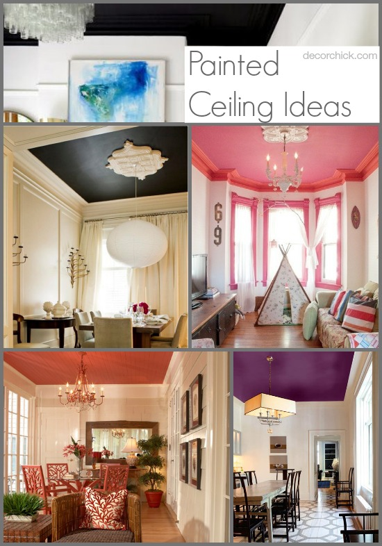 Wonderful Painted Ceiling Ideas | Www.decorchick.com