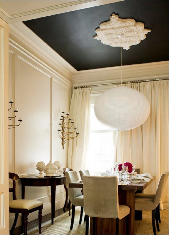 Pretty Painted Ceiling Ideas - Decorchick!