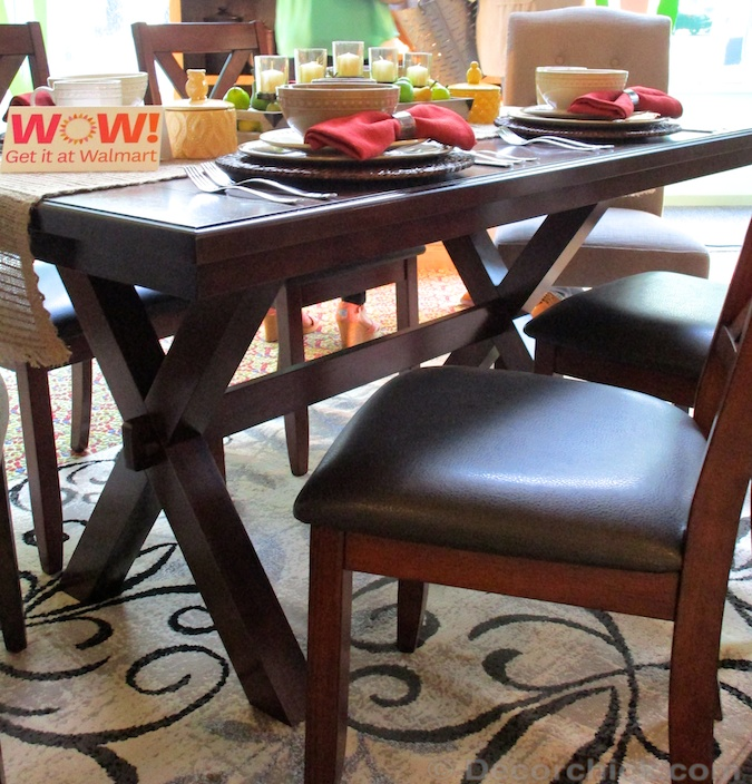 Table Walmart: Walmart And Better Homes And Gardens