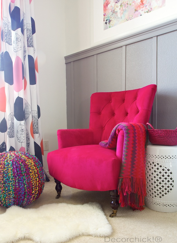 Bon Fuchsia Nina Chair From World Market   Decorchick!®