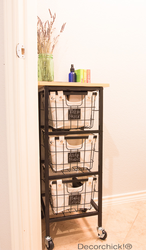 new rolling storage cart and bhg products at walmart giveaway