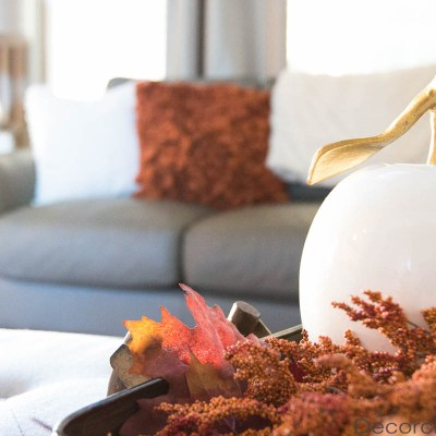 Fall Tray in Living Room   Decorchick!®