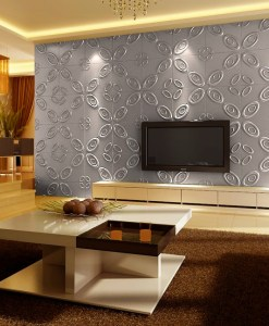 Curl Upwards 3D Wall Panels - Sold in Nigeria by DecorCity-