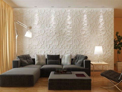 Duckweed 3D Wall Panels - Sold in Nigeria by DecorCity -